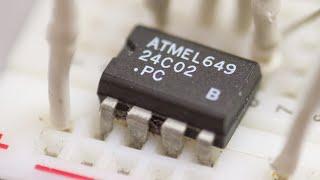 Энергонезависимая память AT24C02 и Arduino