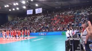 05-10-2014: L'inno nazionale italiano nel pre Italia-Cina
