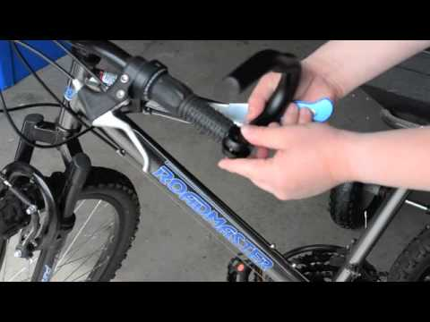 glockninja s installation of bicycle bar ends youtube