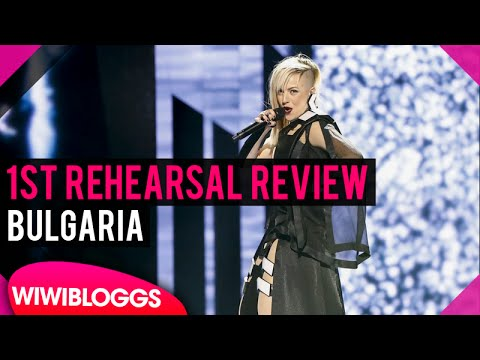 """Bulgaria First Rehearsal: Poli Genova """"If Love Was a Crime"""" @ Eurovision 2016 (Review) 