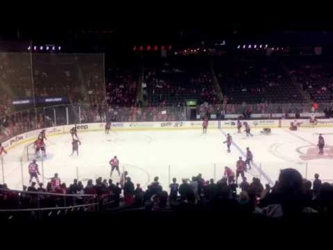 Devils Pregame Warmups - New Jersey Devils Vs Detroit Red Wings