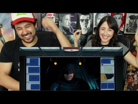 THE AVENGERS React To JUSTICE LEAGUE TRAILER - REACTION!!!