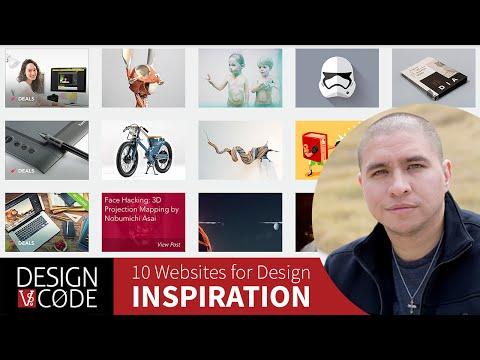 Where to find design inspiration - 10 Design Inspiration Websites