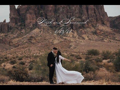 N+S Wedding Video | Gilbert LDS Temple | 1/13/18