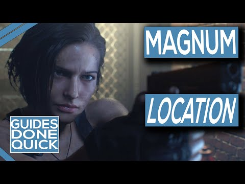 Where To Get The Magnum In Resident Evil 3