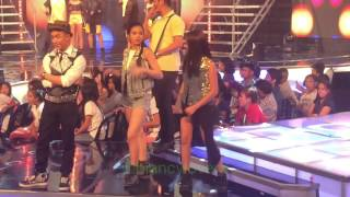 BiGuel Offcam moments - Opening Prod Rehearsal (Bianca Umali and Miguel Tanfelix)