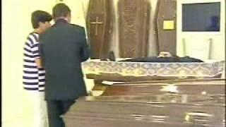 Flauwe grap in mortuarium