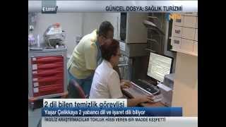 Güncel Dosya NTV - Sağlık Turizmi - Türkiye son yıllarda sağlık turizminin gözde ülkelerinden biri. Ancak tek ülke değil. Türkiyenin dünyada 10. sırada olduğu tahmin ediliyor. Peki insanlar neden ...