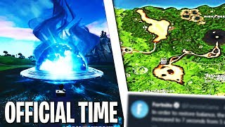OFFICIAL SEASON 8 EVENT START TIME! FORTNITE NEXUS & VOLCANO ERUPTION EVENT OFFICIAL LAUNCH!