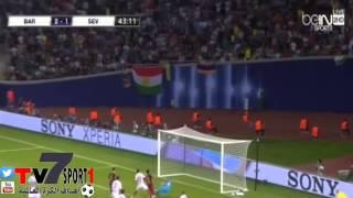 أهداف مباراة برشلونة واشبيلية 4-5 نهائي كأس السوبر