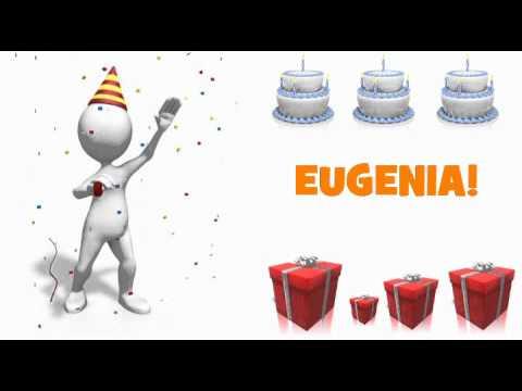 Famoso HAPPY BIRTHDAY EUGENIA! - YouTube AA41