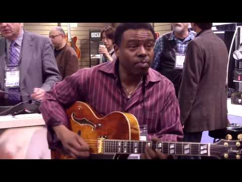 Lydian - Norman Brown @ NAMM 2013 (Smooth Jazz Family)