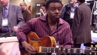 Lydian - Norman Brown @ NAMM 2013 (Smooth Jazz Family)