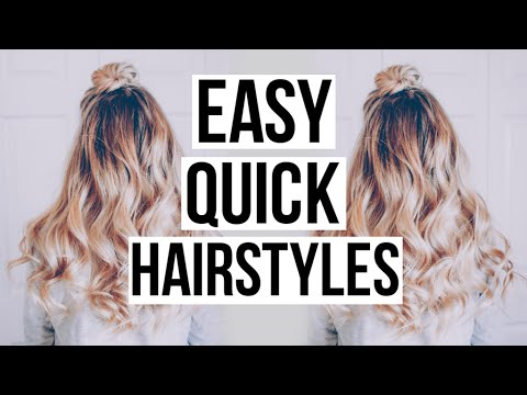 Cute Quick Hairstyles explore quick hairstyles for school and more Easy Cute Quick Hairstyles