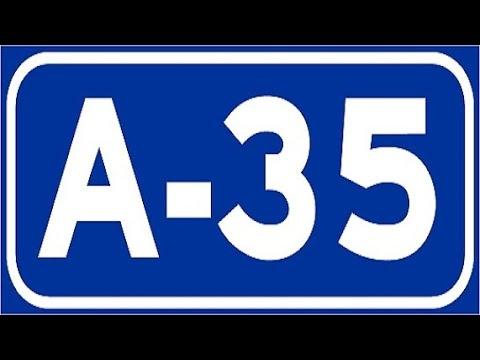A-35 Valencia , Autovía Almansa-Játiva , Sur de Valencia / Valencia Province - Highways in Spain