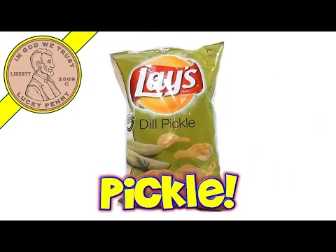 Lay's Dill Pickle Flavor Potato Chips - Lay's Chips Taste Sampler Series