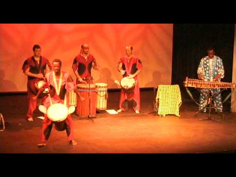 Konkoba Djembe & African Dance by Bolokada Conde and friends