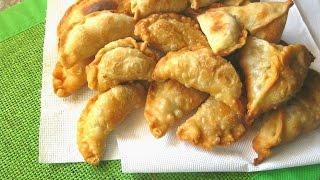ДОМАШНЯЯ САМБУСА. SAMBOUSA HOMEMADE Арабские хрустящие жареные пирожки с мясом и с овощами(Вкусные хрустящие арабские пирожки традиционное подаваемые в месяц Рамадан. Начинка может быть разной...., 2016-06-12T17:57:46.000Z)