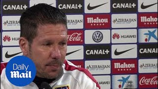 Diego Simeone: Fernando Torres faces stiff competition to start - Daily Mail