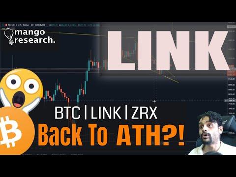 😱ChainLink Back To ATH?! | BTC & LINK & ZRX Price Analysis | BTC Price Prediction | October 2019 🏮