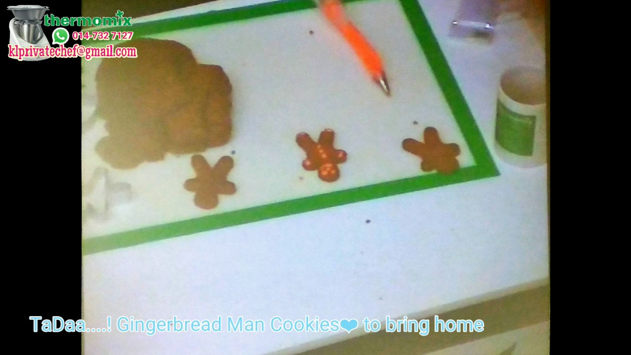 Thermomix Ginger Bread Man 161203
