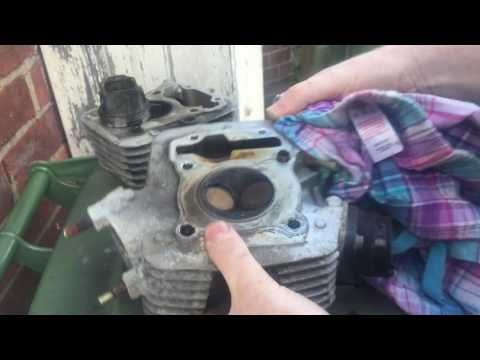 Honda CBF 125 - Part 2 Engine Rebuild