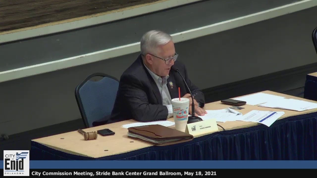 Mayor and Board of Commissioners Regular Meeting - May 18, 2021