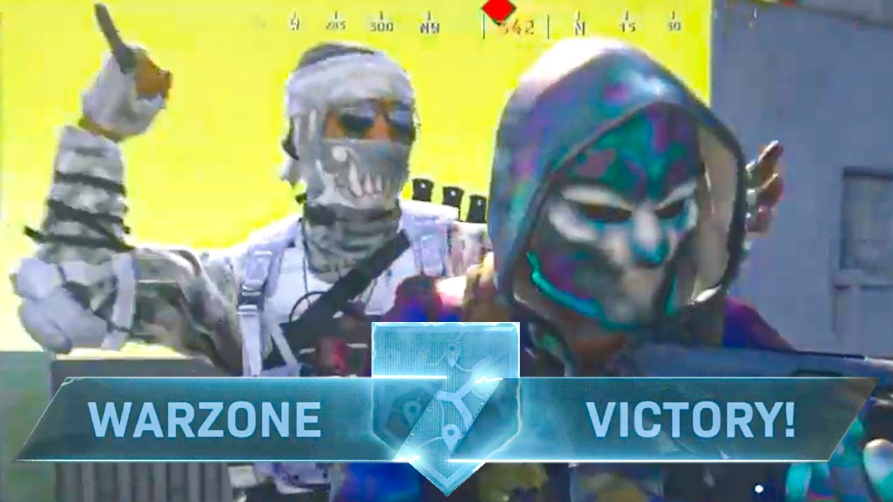 warzone, but I made him delete the game
