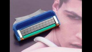 Посылка из Китая  сменные кассеты для бритвы Gillette Fusion (лезвия) aliexpress.com