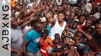A Man Can't Run With Money In His Pocket. All He Can Run With Is Hope In His Heart ~ Anthony Joshua
