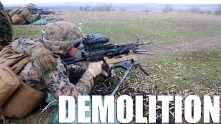 Machine Guns & Demolition