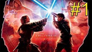 Звёздные Войны Эпизод III Месть Ситхов {PS2} часть 1 — Вторжение