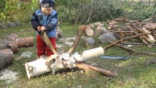 03 10 2010г  дача, пилим дерево(, 2013-01-11T19:12:22.000Z)