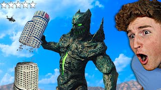 Playing As A MONSTER In GTA 5.. (Rampage Mod)