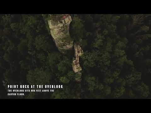Check out a bird's eye view of Buck's Pocket State Park