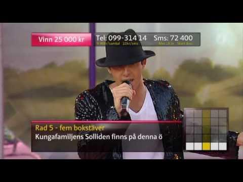 Darin - Michael Jackson medley (Live Sommarkrysset 2009)