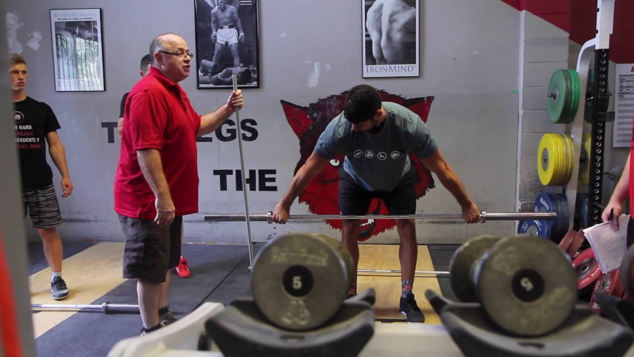 Pierre Roy Teaching Weightlifting At Aas Certification Youtube
