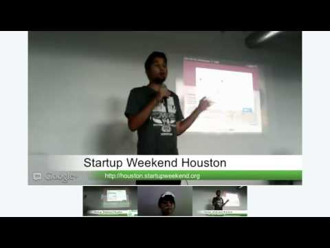 Startup Weekend Houston - July 27-29, 2012 - Final Pitches