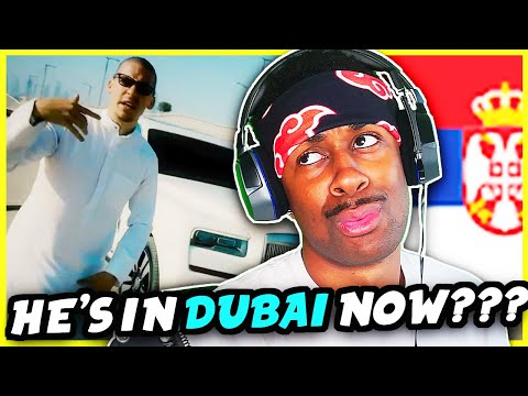 AMERICAN REACTS TO SERBIAN RAP   BAKAPRASE – DUBAI (Official Music Video)