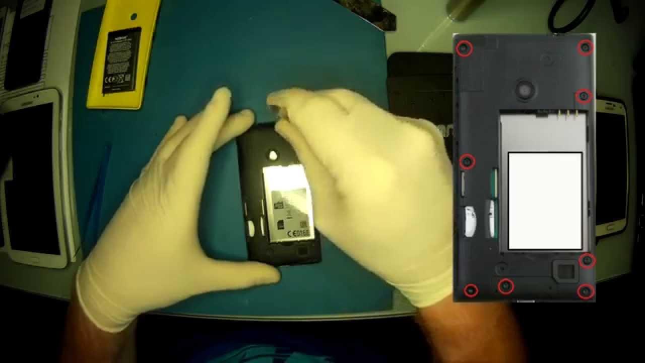 Nokia Lumia 520 Button Switch Power button Fault Fix