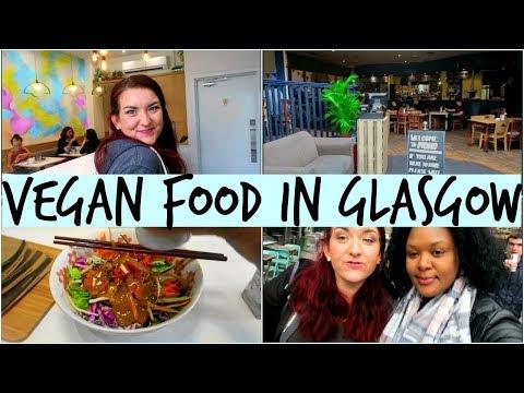 Visiting Vegan Cafes & Tasting Vegan Food In Glasgow