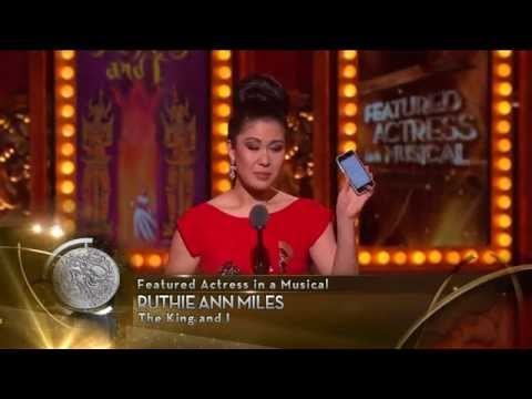 Acceptance Speech: Ruthie Ann Miles (2015)