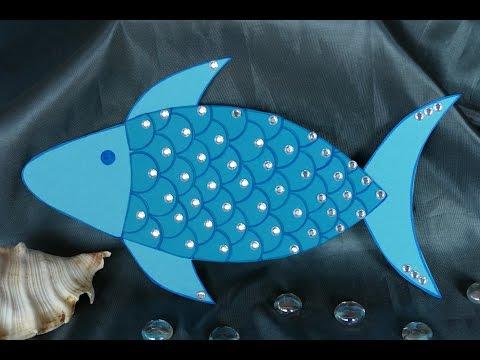 Basteln mit Kindern – basteln mit Papier – Tiere/Fisch basteln aus Papier