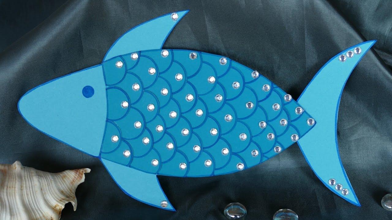 Basteln Mit Kindern Basteln Mit Papier Tierefisch Basteln Aus Papier