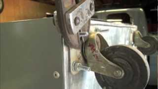 Making The Rolling  Pantry Over Flow Garage Cabinet / Adding Caster's  Pt. 2 Of 3