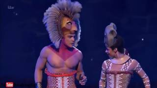 Download The Lion King Broadway   LIVE London Palladium 2016   YouTube 720p Mp3 and Videos