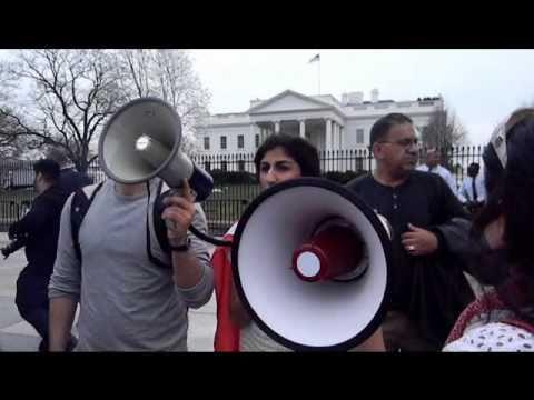 Bahrain Protest in Washington D.C.