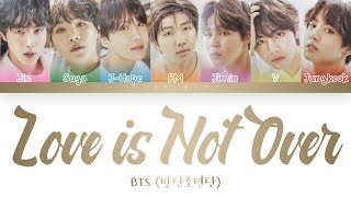 BTS Love is Not Over