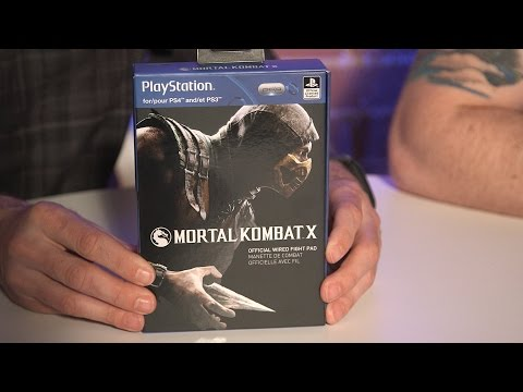 Mortal Kombat X PDP Fight Pad - IGN Unboxing