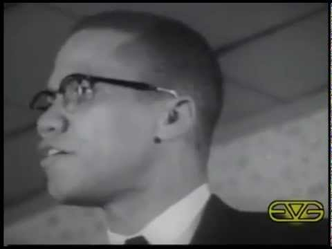 "Malcolm X Speech – ""Democracy is Hypocrisy"""